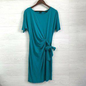 ⚜️ 4/$25 SALE! Ann Taylor Green Tie Waist Dress